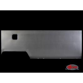 Side panel, long, right, RHD Australian (no vents) - Typ 2, 62>67