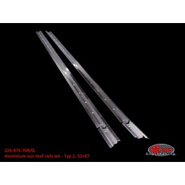 Aluminium sun roof rails set - Typ 2, 55>67