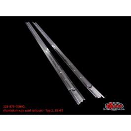 Aluminium sun roof rails set - Typ 2, 55>67
