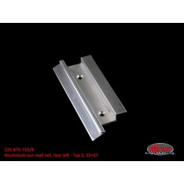 Aluminum sun roof rail, rear left - Typ 2, 55>67