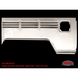 Single cab short side panel, right (LHD) - Typ 2, 67 only