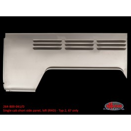 Single cab short side panel, left (RHD) - Typ 2, 67 only