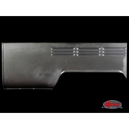 Rear side panel, double cab, left - Typ 2, 67 only