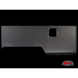 Rear side panel, double cab, right - Typ 2, 58-62